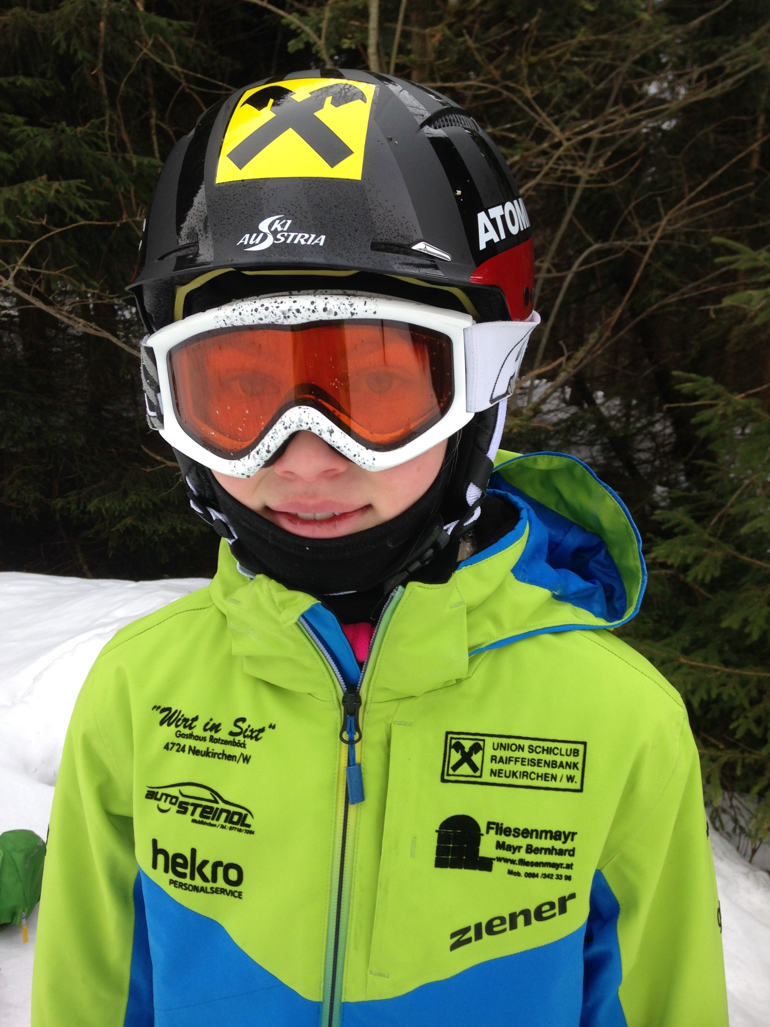 Flora Dieplinger ist Gesamtsiegerin im Kindercup