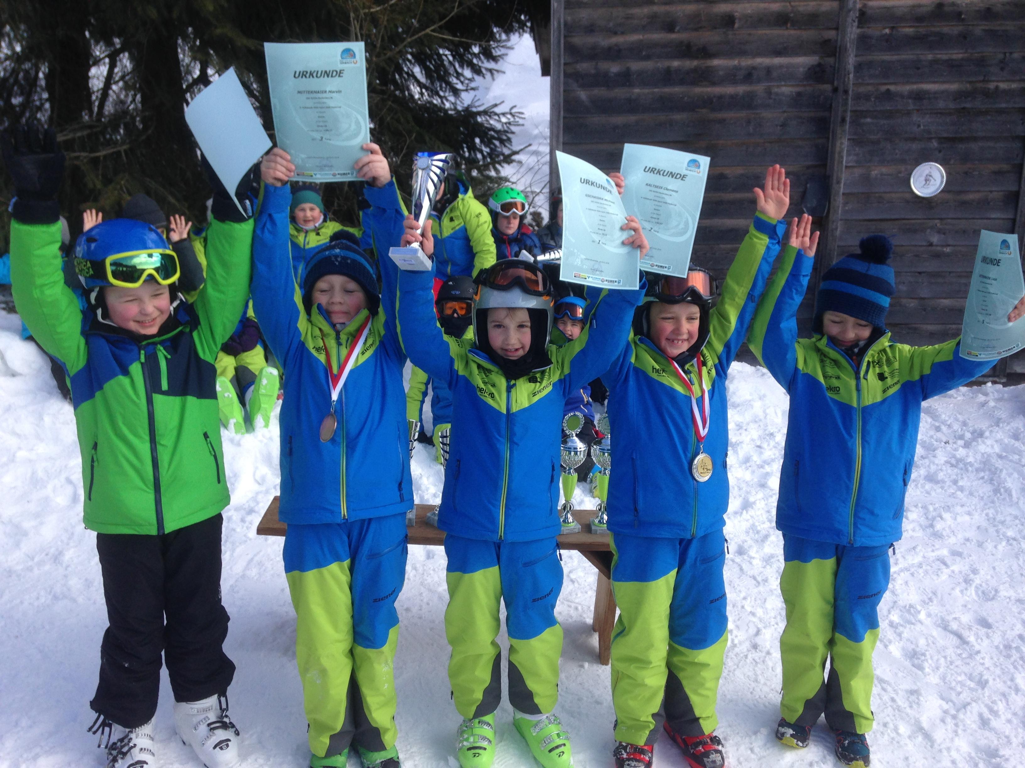 Tolle Abschlusserfolge bei den letzten Kindercuprennen