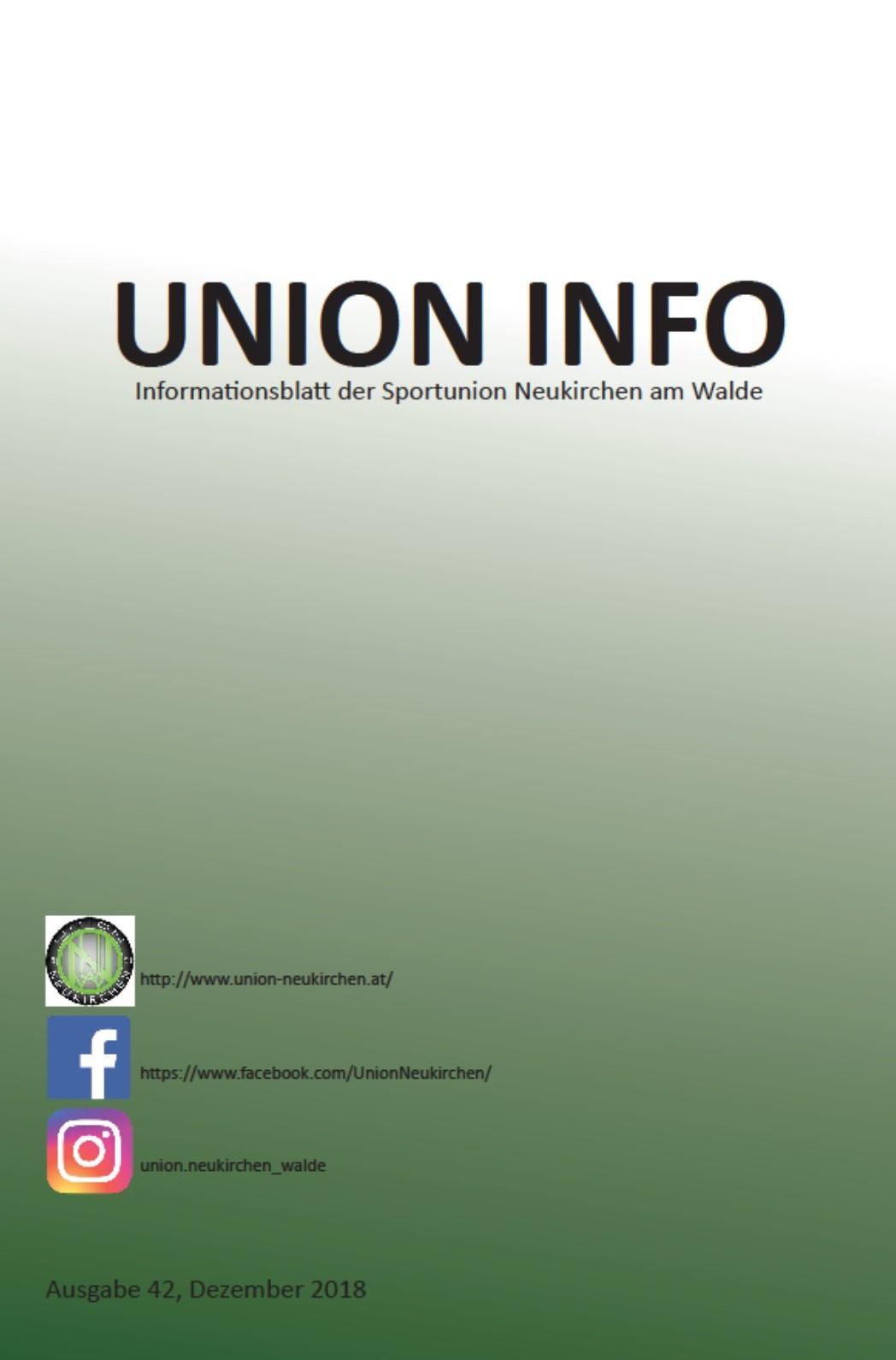 Union Info 2018