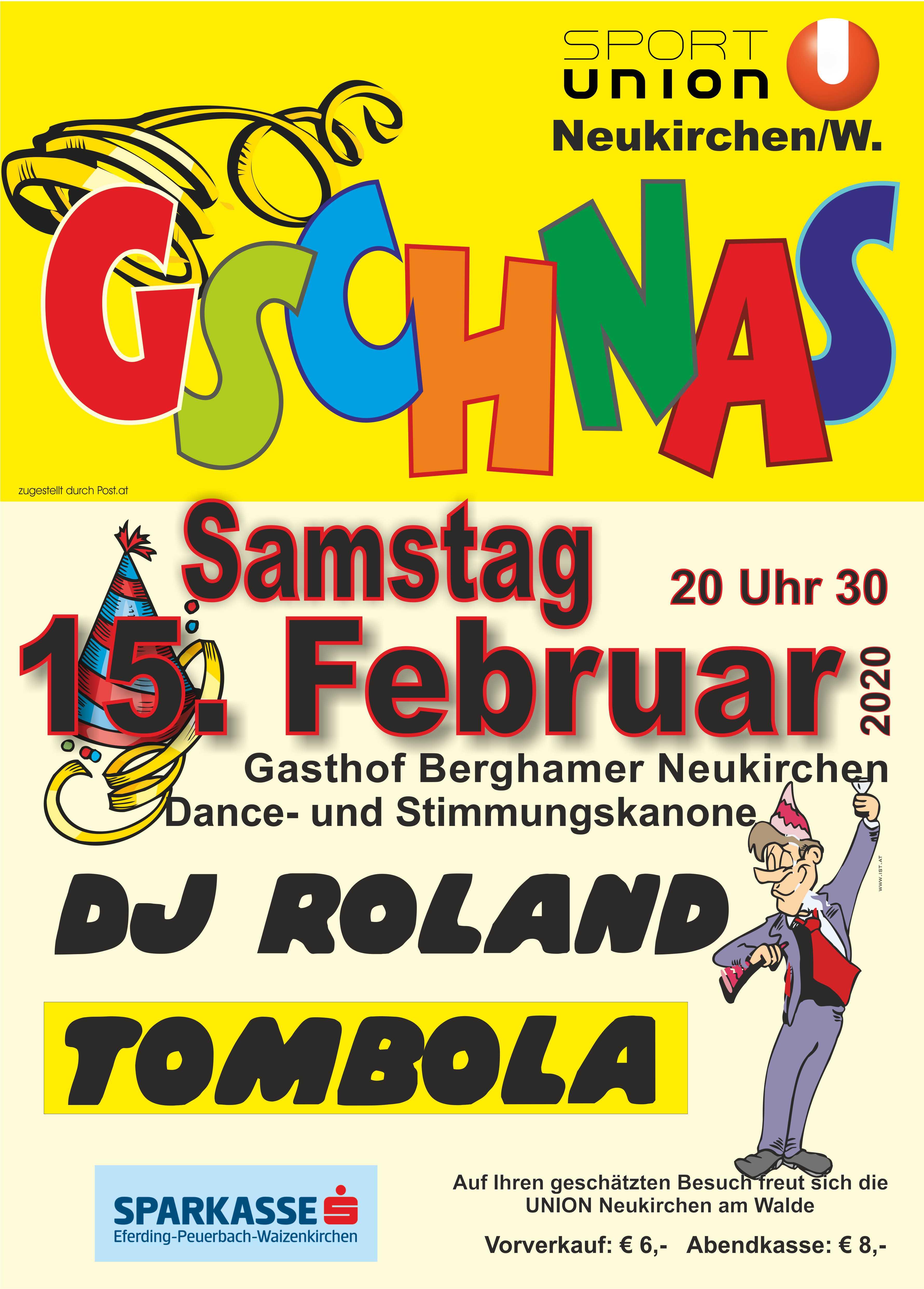 Sportler Gschnas 15.2.2020 Gasthaus Berghamer